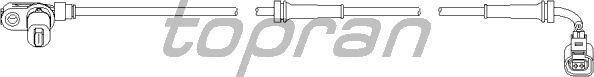 Датчик вращения колеса TOPRAN 110 490
