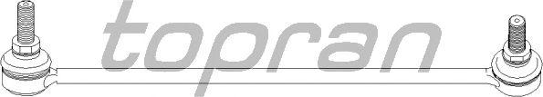 Тяга / стойка стабилизатора TOPRAN 500 427