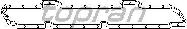 Прокладка клапанной крышки TOPRAN 301 860