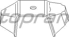 Подушка двигателя TOPRAN 720 361