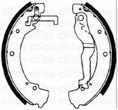 Тормозные колодки CIFAM 153-469