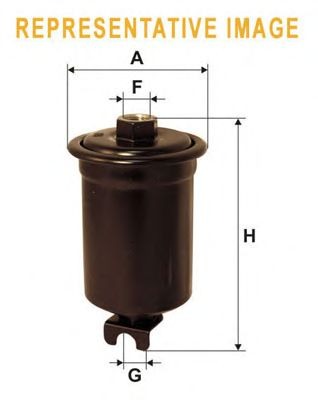 Топливный фильтр WIX FILTERS WF8340