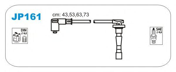 Комплект высоковольтных проводов JANMOR JP161