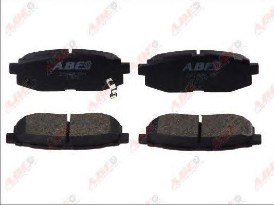 Тормозные колодки ABE C27004ABE