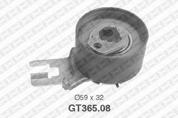 Натяжной ролик ремня ГРМ SNR GT365.08