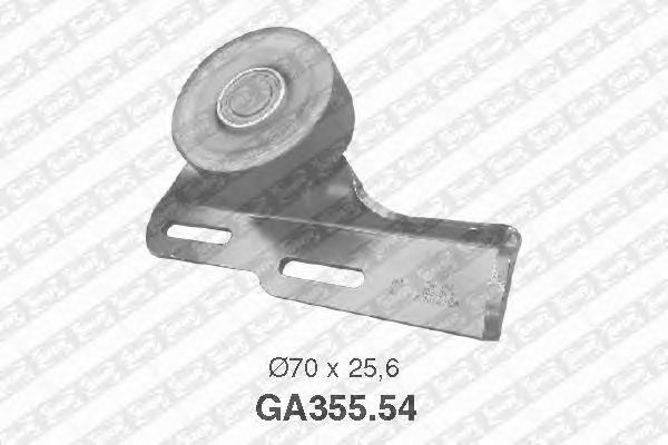 Натяжной ролик поликлинового ремня SNR GA355.54