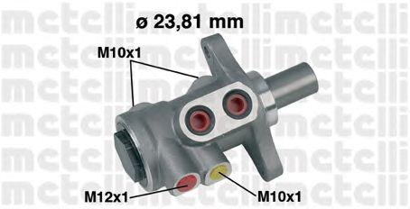 Главный тормозной цилиндр METELLI 05-0455