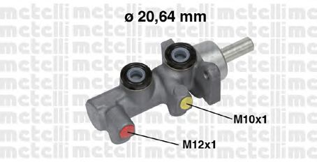 Главный тормозной цилиндр METELLI 05-0697