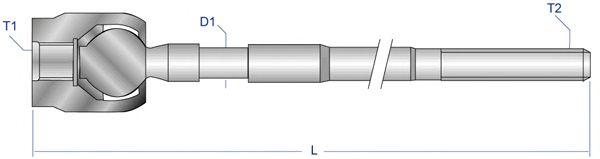 Рулевая тяга MOOG LN-AX-2677