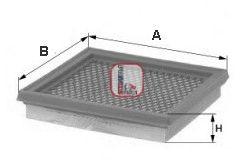 Воздушный фильтр SOFIMA S 3802 A