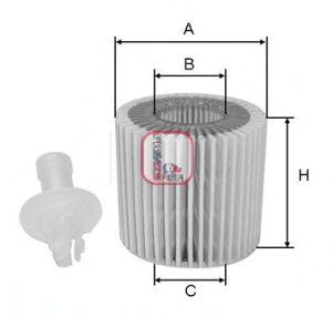 Масляный фильтр SOFIMA S 5116 PE