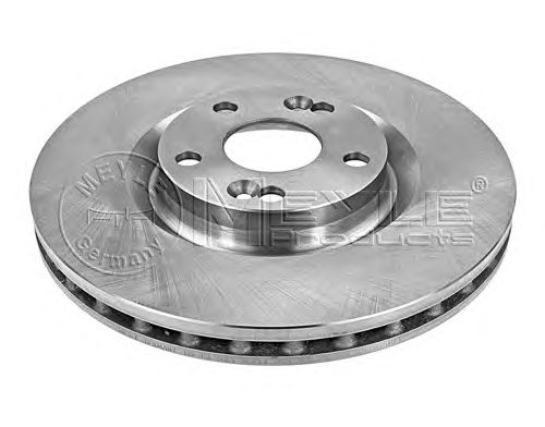 Тормозной диск MEYLE 16-15 521 0011
