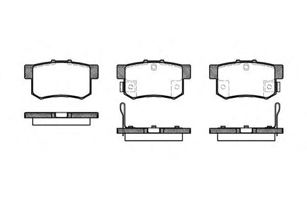 Тормозные колодки REMSA 0325.32