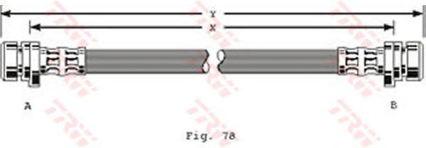 Тормозной шланг TRW PHA258