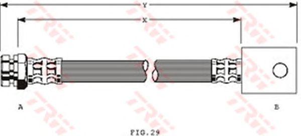Тормозной шланг TRW PHA325