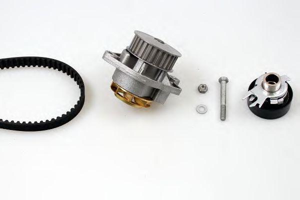 Помпа + комплект ГРМ HEPU PK05411