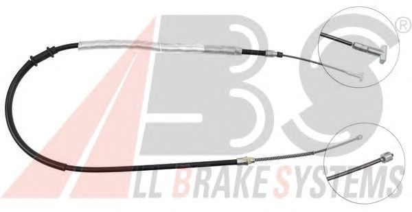 Трос ручника A.B.S. K13567