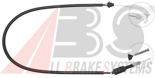 Тросик газа A.B.S. K34440