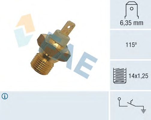 Датчик температуры охлаждающей жидкости FAE 35270
