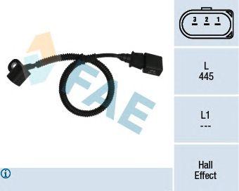 Датчик FAE 79164 (управление двигателем, положение распределительного вала