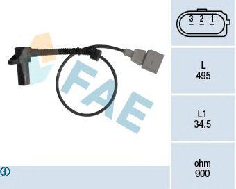 Датчик импульсов FAE 79311 (датчик частоты вращения)
