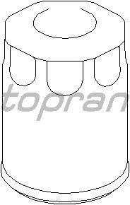 Масляный фильтр TOPRAN 201 303