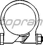Соединительные элементы, система выпуска TOPRAN 201 762