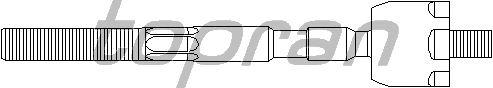 Рулевая тяга TOPRAN 700 541
