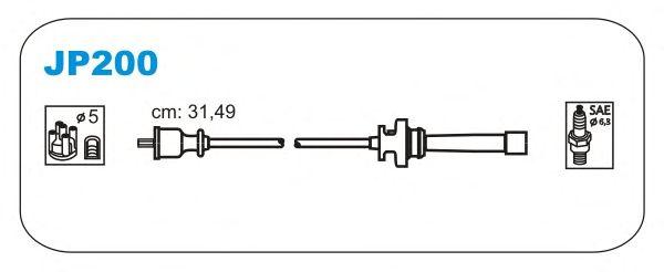 Комплект высоковольтных проводов JANMOR JP200