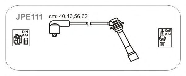 Комплект высоковольтных проводов JANMOR JPE111