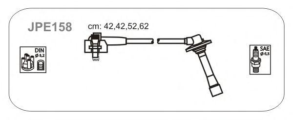 Комплект высоковольтных проводов JANMOR JPE158