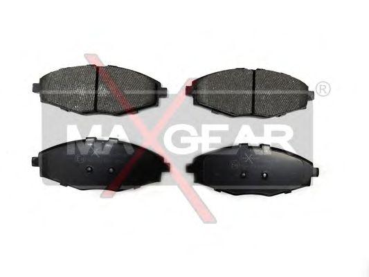 Тормозные колодки MAXGEAR 19-0536