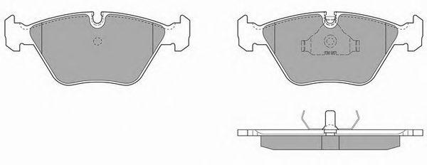 Тормозные колодки SIMER 416.1