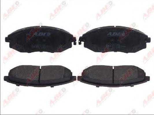 Тормозные колодки ABE C10021ABE
