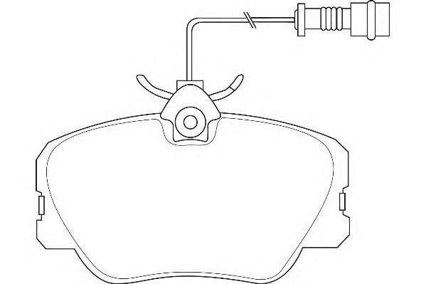 Тормозные колодки WAGNER WBP20941A