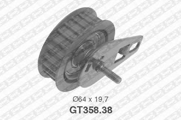 Натяжной ролик ремня ГРМ SNR GT358.38