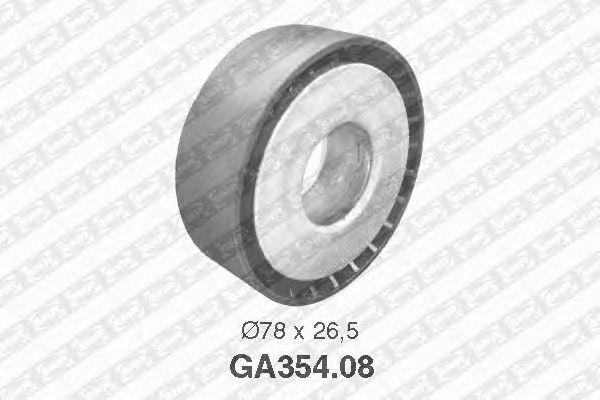 Натяжной ролик поликлинового ремня SNR GA354.08