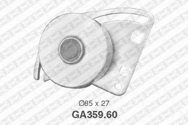 Натяжной ролик поликлинового ремня SNR GA359.60