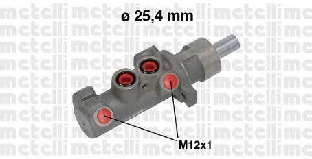 Главный тормозной цилиндр METELLI 05-0642