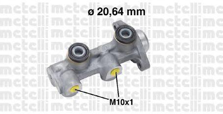 Главный тормозной цилиндр METELLI 05-0760