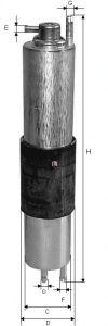Топливный фильтр SOFIMA S 1847 B