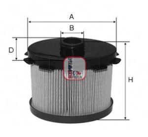 Топливный фильтр SOFIMA S 6688 N