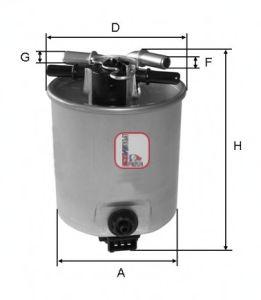 Топливный фильтр SOFIMA S 4025 NR