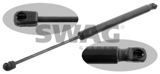 Газовый упор крышки багажника SWAG 30 93 1683