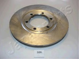 Тормозной диск JAPANPARTS DI-326