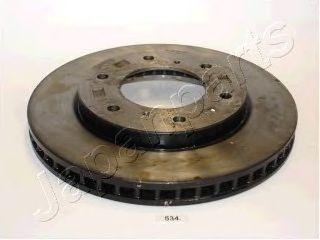 Тормозной диск JAPANPARTS DI-534