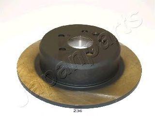 Тормозной диск JAPANPARTS DP-236