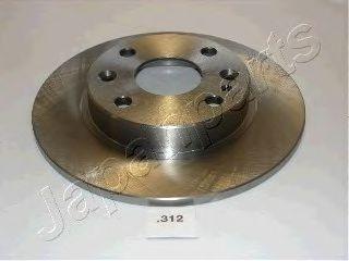 Тормозной диск JAPANPARTS DP-312