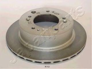 Тормозной диск JAPANPARTS DP-K12