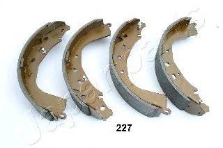 Тормозные колодки ручника JAPANPARTS GF-227AF